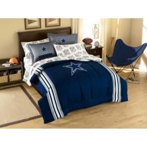 Amazon.com - Dallas Cowboys NFL Bed in a Bag (Contrast Series)(Full) -