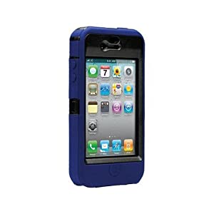 OtterBox Defender Series Hybrid Case for iPhone 4 – Blue