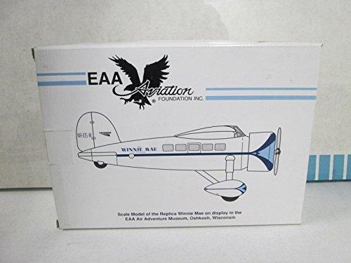 "Spec Cast Eastwood Automobilia EAA Aviation ""Winnie Mae"" Airplane Bank"
