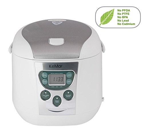 KeMar-KRC-140-Multifunktionskocher-BPA-frei-Reiskocher-Dampfgarer-mit-Warmhaltefunktion