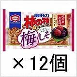 亀田製菓 亀田の柿の種梅しそ6袋詰 192g×12袋