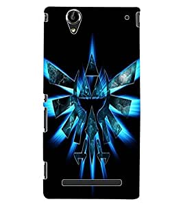 ColourCraft Printed Design Back Case Cover for SONY XPERIA T2 ULTRA