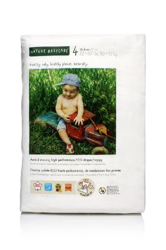 Nature Babycare Eco-Friendly Chlorine-Free Diapers  4 packs of 27 each