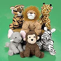 Suede Jungle Animal Assortment (1 dz)