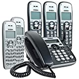 Uniden DECT1588-5 DECT 6.0 Cordless Phone Answering System