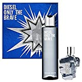 Diesel Only The Brave Eau De Toilette Spray Gift Set for Men
