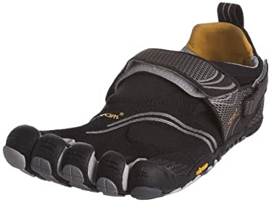 Vibram FiveFingers Komodo Sport Shoes - 7.5 - Black/Silver/Grey/Gold (41 EU)