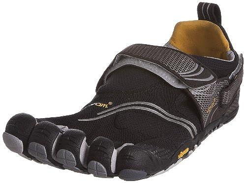 06. Vibram Fivefingers Komodosport Mens Shoes Black Silver 44 EU