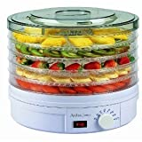 Andrew James Food Dehydrator With Adjustable Temperature Control - 5 Levels + FREE BANANA SLICER