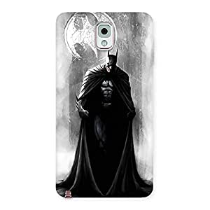 Gorgeous White Moon Knight Multicolor Back Case Cover for Galaxy Note 3