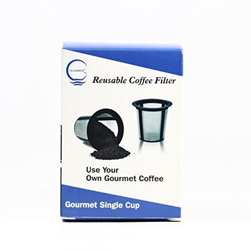 One Cup Coffee Maker With Reusable Filter : Filteristic K-cup Reusable Single Serve Coffee Filter by Filteristic - Coffee Maker World