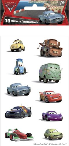 Cars 2 Licensed Dimensional