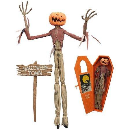 Diamond Select Toys Night before Christmas Pumpkin King Jack Coffin Doll