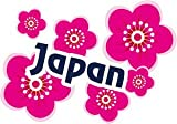 トラベルステッカー 日本 JAPAN 桜 旅行シール~スーツケース・タブレットPCに