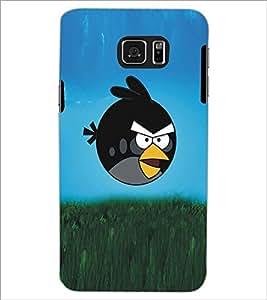 PRINTSWAG BLACK BIRD Designer Back Cover Case for SAMSUNG GALAXY S6 EDGE PLUS