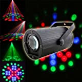 Lightahead® High Brightness Auto and Voice Activated RGB Moonflower Effect Led Stage Light For Party DJ Dance Bar Lighting Show KTV Disco Wedding Birthday Hall