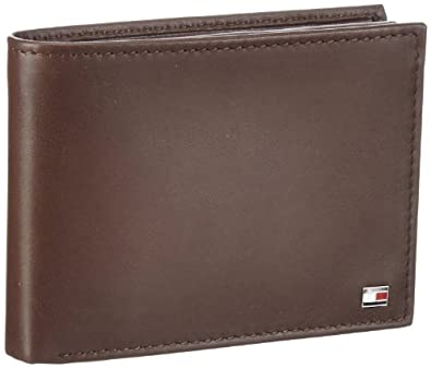 Tommy Hilfiger ETON CC FLAP AND COIN POCKET BM56918974, Herren Geldbörsen, Braun (BROWN 204), 14x10x3 cm (B x H x T)