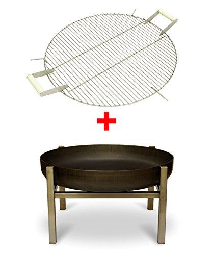 feuerschale mit grillrost preisvergleiche erfahrungsberichte und kauf bei nextag. Black Bedroom Furniture Sets. Home Design Ideas