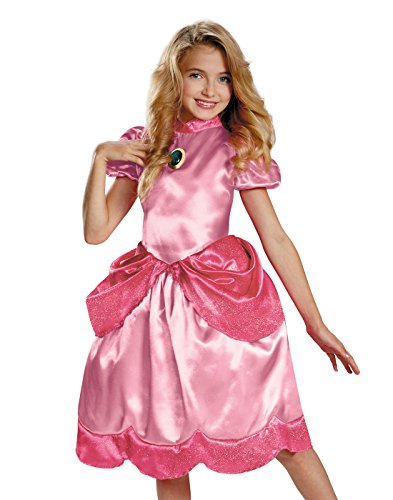 Disguise Nintendo Super Mario Brothers Princess Peach Classic Girls Costume