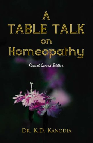 A Table Talk on Homeopathy: 1