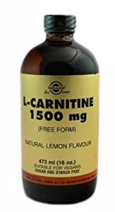 Solgar L-Carnitine Liquid, 1500 mg, 16 Ounce