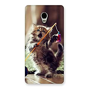 Dancing Cute Cat Back Case Cover for Lenovo Vibe P1