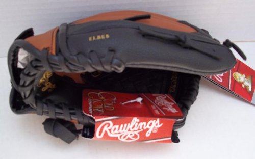 Rawlings Youth LEFT HANDED Synthetic Black/Brown