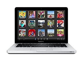 Apple MacBook Pro 13.3-Inch Laptop Core i5 4GB 500GB MD101LL/A with Built-in DVD SuperDrive [Current Version] (Certified Refurbished)