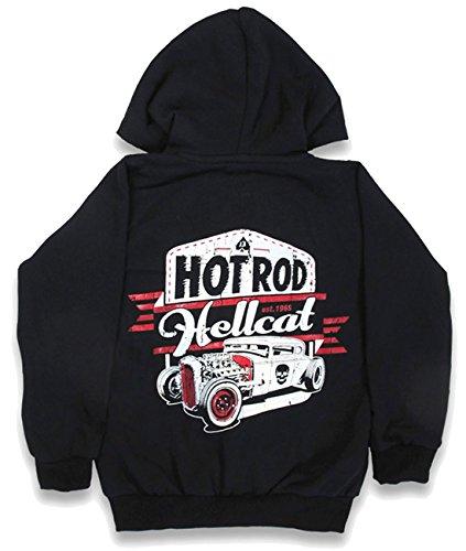 Hotrod Hellcat -  Giacca  - Camicia - ragazzo nero 4 anni