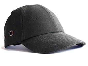 Safety Baseball Cap Bump Cap Black