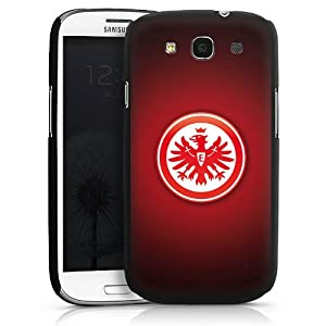 Samsung Galaxy S3 i9300 / LTE i9305 Case Hülle Cover Schutzhülle HardCase black - Eintracht Frankfurt