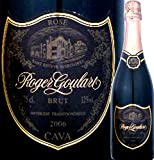 ロジャー・グラート・カヴァ・ロゼ 高級シャンパン[ドンペリ・ロゼ]に勝った超噂のスパーク スペイン ロゼスパークリングワイン 750ml ミディアムボディ...