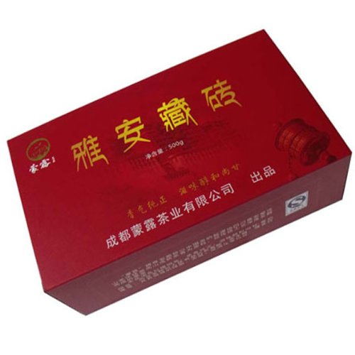 Ya'An Tibetan Brick Anhua Dark Tea Fu Brick Tea 500G