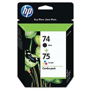 HP OEM 74/75 Combo pack of Inkjet Cartridges