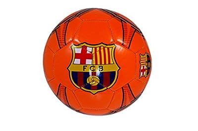 FC Barcelona Soccer Ball - Away Colors/Orange - Size 5