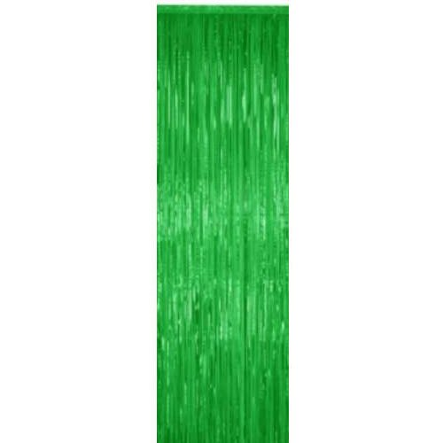 Mylar Curtain 3' x 8' Green 1 pc