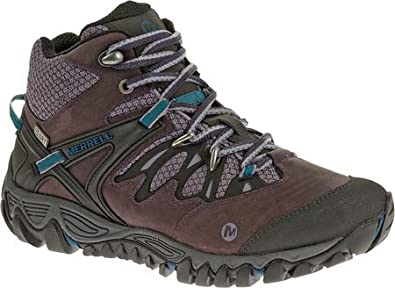 Buy Merrell Ladies Allout Blaze Mid Waterproof Mid Hiking Boot by Merrell