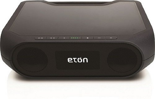 Eton Rukus Speaker System - Wireless Speaker - Black - Bluet