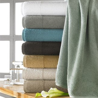 Turkishtowels Naturel Collection 6 Piece Towel Set (2 Bath, 2 Hand, 2 Wash) You Save $10.80!!!, Ivy