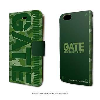 手帳型スマホケース「GATE 自衛隊 彼の地にて、斯く戦えり」01/イメージデザイン(iPhone5/5s 専用)