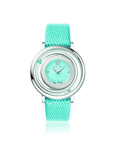 Versace Women's VQV020015 Venus Stainless Steel & Blue Watch