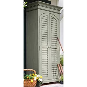 Paula Deen Home Utility Cabinet Spanish Moss Free Standing Cabinets