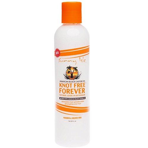 Sunny Isle Jamaican Black Castor Oil Knot Free Forever Leave In Detangler 8oz by Sunny Isle