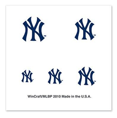 MLB New York Yankees 77612010 Fingernail Tattoos