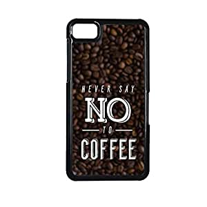 Vibhar printed case back cover for BlackBerry Z10 NoToCoffee
