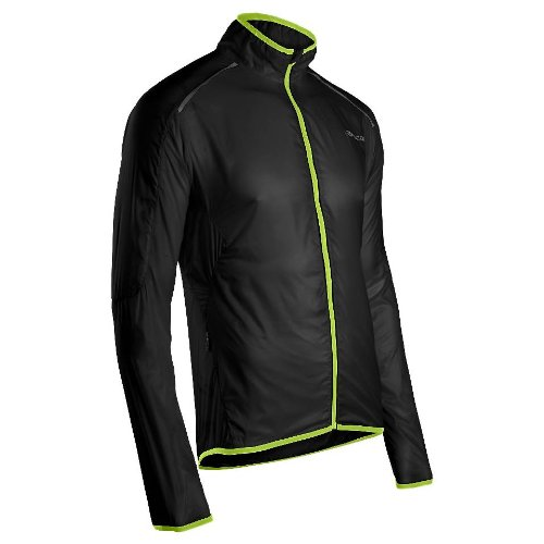 Sugoi Sugoi Men's Helium Jacket, Black/Lotus, Large