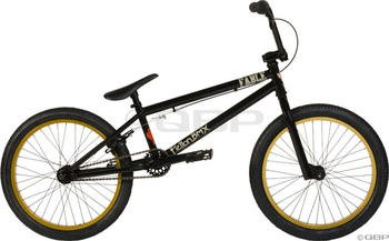 2013 Fiction Fable BMX Black Plague with Gold