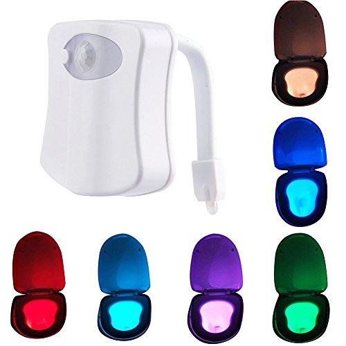 myc yi lian 8 farb led badezimmer nachtlicht menschliches bewegungssensor bewegung h ngende. Black Bedroom Furniture Sets. Home Design Ideas
