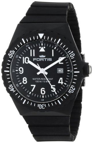 fortis-colors-c-70401-black-silicone-pop-out-watch