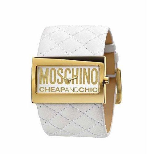 Moschino MW0016 Ladies 'Time For Fashon' White Strap Watch